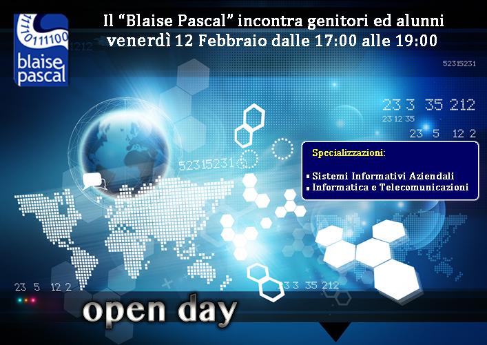 Open Day del 17-02-2016