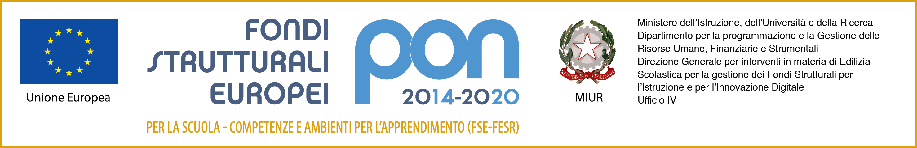 Loghi PON 2014-2020 (fse+fesr)